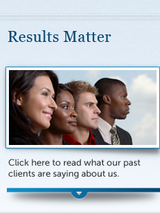 Click here to read what our past clients are saying about us.